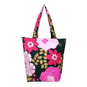 Sachi - Insulated Folding Market Tote Bag Floral Blooms