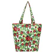 Sachi - Insulated Folding Market Tote Bag Lady Bug