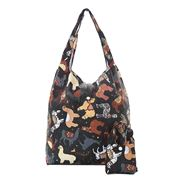 Eco-Chic - Foldaway Shopper Llama Black