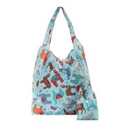 Eco-Chic - Foldaway Shopper Llama Blue