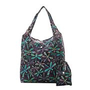 Eco-Chic - Foldaway Shopper Dragonfly Black