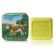 La Savonnerie De Nyons - The Cow Padd. Verbena Tin Soap 100g