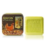 La Savonnerie De Nyons - Mother Hen & Chicks Tin Soap 100g
