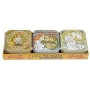 La Savonnerie De Nyons - Olive Oil Tinned Soap Set 3pce