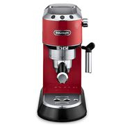 DeLonghi - Dedica Pump Espresso Red Coffee Machine