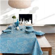 Garnier-Thiebaut - Mille Coraux Tablecloth Ocean 175x250cm