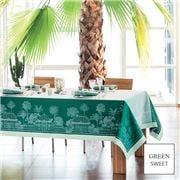 Garnier-Thiebaut - Serres Royales T/Cloth Vert 174x364cm