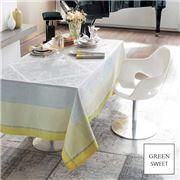 Garnier-Thiebaut - Alexandrine Tablecloth Mimosa 174x254cm