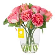 Florabelle - Pink Rose Bouquet In Water