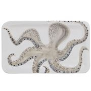 Virginia Casa - Marina Rectangular Platter Octopus 36x21cm