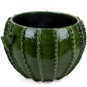 Virginia Casa - Cactus Cache Pot Green Large