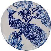 Virginia Casa - Zaffiro Dinner Plate Peacock 23cm