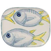 Virginia Casa - Marina Small Rectangular Plate Tuna 23x18cm