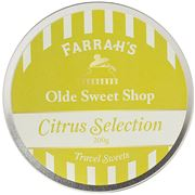 Farrah's - Olde Sweet Shop Citrus Selection Travel Tin 200g
