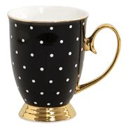 Cristina Re - High Tea Collection Mug Ebony Polka Dot