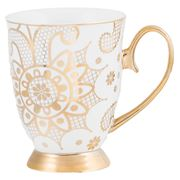Cristina Re - Georgia Lace Mug Pearl