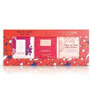 L'Occitane - Xmas 2018 Floral Soap Trio Gift Set 3pce