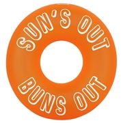 SunnyLife - Inflatable Pool Ring Neon Orange
