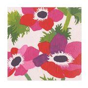 Caspari - Poiret Floral Lunch Napkins Ivory 20pce