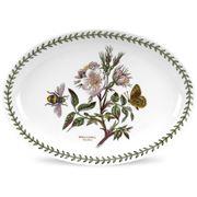 Portmeirion - Botanic Garden Oval Platter Dogrose 28x20cm