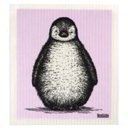 Retro Kitchen - Biodegradable Dish Cloth Penguin