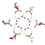 Avanti - Wine Charms Set Shoe 6pce