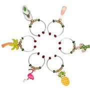 Avanti - Wine Charms Set Tropical 6pce