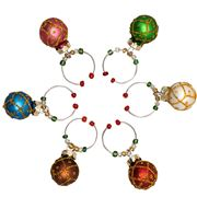 Avanti - Wine Charms Set Bauble 6pce