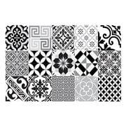 Beija Flor - Eclectic Placemat Black & White 33x50cm