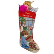 Sferra - Stocking Boy Merry Christmas