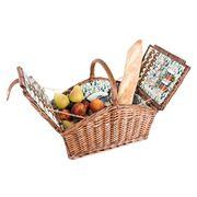 Avanti - Four Person Cactus Picnic Basket W/Handle