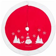 Peter's - Felt Tree Skirt Mini Santa 90cm