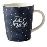 Royal Doulton - Ellen Degeneres Christmas Let It Snow Mug