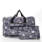 Eco-Chic - Foldable Holdall Sheep Grey