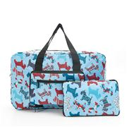 Eco-Chic - Foldable Holdall Scotty Dog Blue