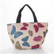 Eco-Chic - Lunch Bag Butterflies Cream