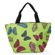 Eco-Chic - Lunch Bag Butterflies Green