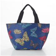 Eco-Chic - Lunch Bag Butterflies Navy