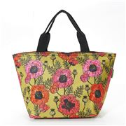 Eco-Chic - Lunch Bag Poppies Green
