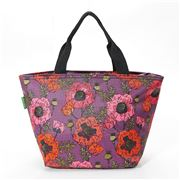Eco-Chic - Lunch Bag Poppies Purple