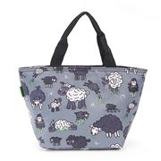 Eco-Chic - Lunch Bag Sheep Dark Grey