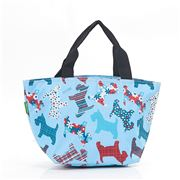 Eco-Chic - Lunch Bag Scotty Dog Blue