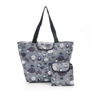 Eco-Chic - Foldable Cool Bag Sheep Dark Grey Large