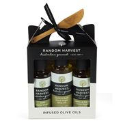 Random Harvest - Infused Olive Oils Carry Case 4pce