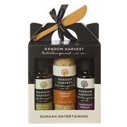 Random Harvest - Dukkah Entertaining Carry Case 4pce