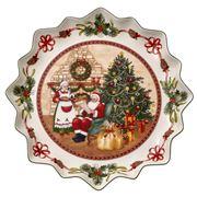 V&B - Christmas Toys Fantasy Santa Deep Pastry Plate