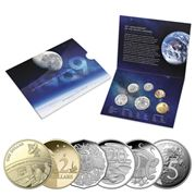 RA Mint - 50th Anniversary Moon Landing 2019 Uncir. Coin Set