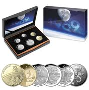 RA Mint - 50th Anniversary Moon Landing 2019 Proof Coin Set