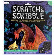 International Arrivals- Scratch & Scribble Fantastic Dragons