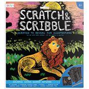 International Arrivals - Scratch & Scribble Colourful Safari